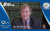 Message of Sir David Amess, Member of the British Parliament