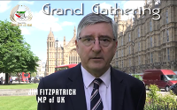 Message of Jim Fitzpatrick MP of UK