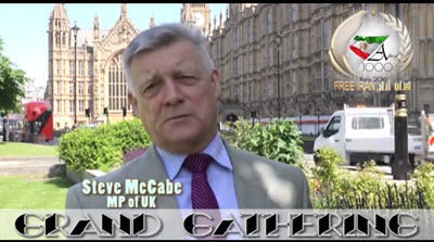 Message of Steve McCabe MP of UK