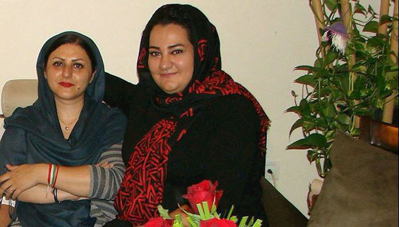 Atena Daemi and Golkorki Iraee