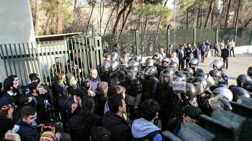 Arrests in Iran the governments response to