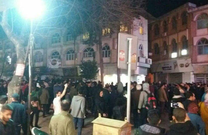 Nightly Protest Rallies in Different Cities