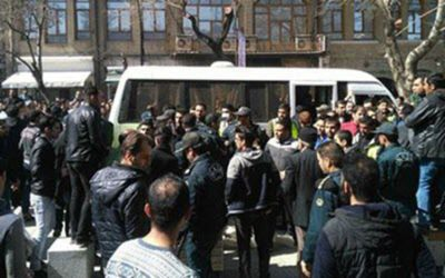 Thousands of people held protest rally in front of Irans parliament 400