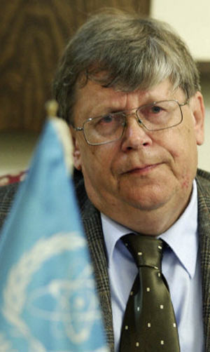 Olli Heinonen, former head of nuclear safeguards inspections worldwide at the U.N. International Atomic Energy Agency