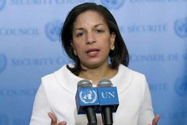 "The U.S. Ambassador to the U.N. Susan Rice told the assembly, ""while this resolution expresses our collective abhorrence at the known details of the plot, it also restates and reinforces principles that are essential to the functioning of diplomacy. It is a measured and appropriate response."""