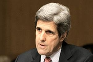 US Senator John Kerry among top US lawmakers calling for renewed sanctions on Iranian regime