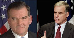 Howard Dean and Tom Ridge